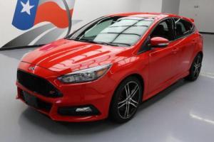 2016 Ford Focus ST HATCHBACK ECOBOOST 6-SPD REARCAM