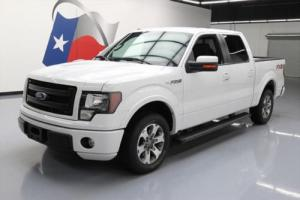 2013 Ford F-150 FX2 CREW 5.0 REAR CAM SIDE STEPS TOW