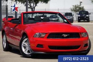 2012 Ford Mustang Convertible Clean Carfax