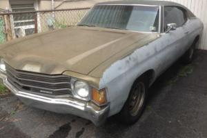 1972 Chevrolet Chevelle Malibu