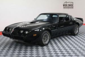 1979 Pontiac Trans Am WS6 RARE 4 SPEED STARLIGHT BLACK Photo