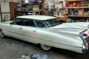 1959 Cadillac Series Sixty-Two Sedan 4 window, 4 Door Flat Top Series Sixty-Two Sedan 4 window, 4 Door Flat Top Photo
