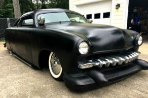 1951 Ford Coupe Bagged Air Ride Chopped Shoebox Hot Rod Photo