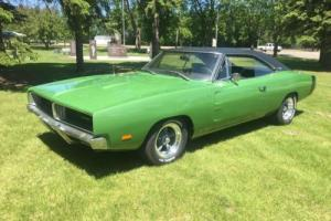 1969 Dodge Charger White Hat Special Photo