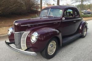 1940 Ford Coupe Deluxe Pro Touring Resto Mod 40 Ford Coupe Photo