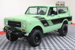 1979 International Harvester Scout HIGH DOLLAR FRAME OFF RESTORATION V8 PS PB
