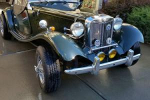 1952 MG T-Series MG TD