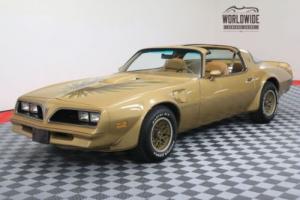 1978 Pontiac Trans Am SOLAR GOLD T-TOPS FACTORY A/C WINDOW STICKER Photo