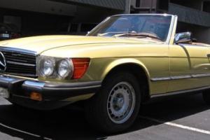 1979 Mercedes-Benz SL-Class Roadster Convertible