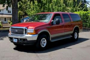 2001 Ford Excursion Ford, Excursion, Limeted, SUV, 7.3'L, 4wd, Other,