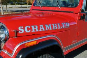 1981 AMC CJ-8 Scrambler 4.2L 4-Speed 4x4 Beautiful Restoration! Photo