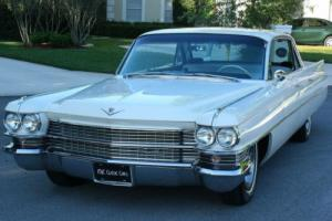 1963 Cadillac SERIES 62 SIX WINDOW HARDTOP - 50K MI