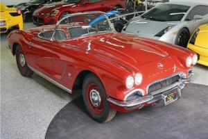 1962 Chevrolet Corvette Fuel Injected