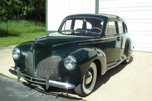 1940 Lincoln MKZ/Zephyr Photo