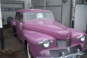1942 Lincoln Continental Photo