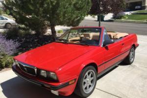 1989 Maserati Spyder