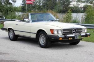 1980 Mercedes-Benz SL-Class V8 AUTOMATIC HARD TOP CONVERTIBLE NEW TIRES