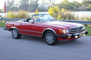 1987 Mercedes-Benz 500-Series 560 SL 2dr Convertible