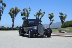 1934 Ford 3 Window Coupe Hot Rod Model 40