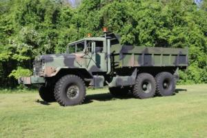 1986 M923 6x6 Marine corps 5 ton Truck with dump body and Rugby Hoist Photo