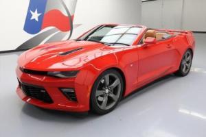 2016 Chevrolet Camaro CONVERTIBLE 2SS AUTO NAV HUD 20'S
