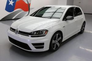2016 Volkswagen Golf R AWD 6-SPEED LEATHER REAR CAM