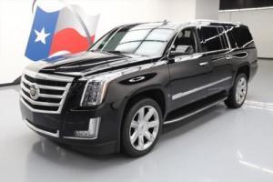 2015 Cadillac Escalade ESV LUX SUNROOF NAV HUD 22'S