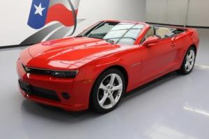 2015 Chevrolet Camaro 2LT RS CONVERTIBLE LEATHER NAV
