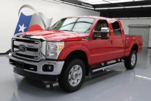 2013 Ford F-250 LARIAT CREW CAB 4X4 LEATHER 20'S