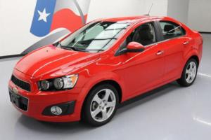 2015 Chevrolet Sonic LTZ TURBO AUTO HTD SEATS REAR CAM