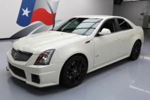 2014 Cadillac CTS V SEDAN S/C AUTO NAV RECARO