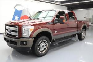 2015 Ford F-250 KING RANCH CREW 4X4 FX4 DIESEL NAV