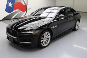 2016 Jaguar XF R-SPORT 35T S/C LEATHER SUNROOF NAV
