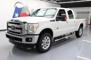 2014 Ford F-250 LARIAT CREW 4X4 FX4 DIESEL NAV 20'S Photo