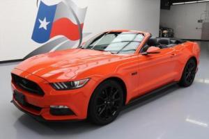2016 Ford Mustang GT PREMIUM CONVERTIBLE 5.0 NAV