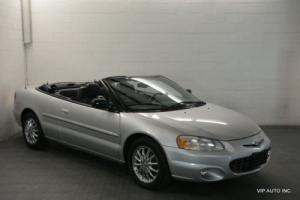 2002 Chrysler Sebring 2dr Convertible Limited