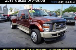 2008 Ford F-450 King Ranch