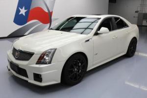 2014 Cadillac CTS V SEDAN SUPERCHARGED PANO NAV