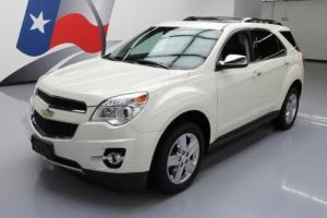 2014 Chevrolet Equinox LTZ HTD SEATS SUNROOF NAV