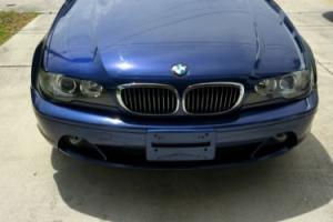 2005 BMW 3-Series 325Ci 2dr Convertible