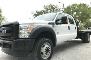2016 Ford F-550 DRW CREW CAB 4X4 FLATBED 6.7 LITER TURBO DIESEL