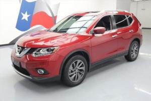 2016 Nissan Rogue SL HTD LEATHER PANO ROOF NAV