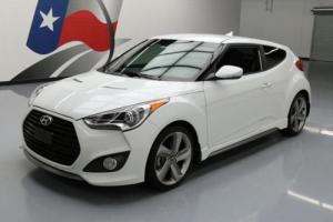 2013 Hyundai Veloster 3DR COUPE TURBO HTD LEATHER