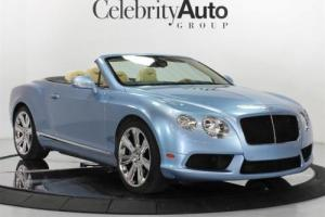 2013 Bentley Continental GT C V-8 Convertible
