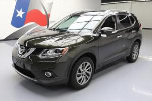 2015 Nissan Rogue SL AWD HTD LEATHER PANO ROOF NAV