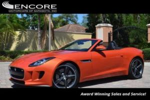 2014 Jaguar F-Type 2dr Convertible V6 S W/Premium Pack S and Vision P