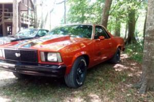 1979 Chevrolet El Camino SS for Sale