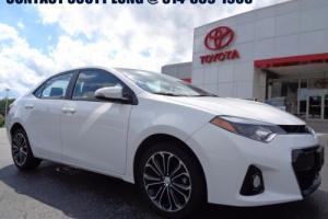 2015 Toyota Corolla 2015 Sport Automatic White