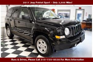 2017 Jeep Patriot --