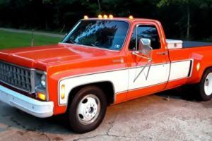 1980 Chevrolet C/K Pickup 3500 c-10 c/k 3500 k 35 scottsdale silverado dually